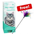 30 x 85g/90g My Star Wet Cat Food + Feather Waggler Cat Toy Free!*