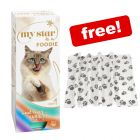 30 x 85g/90g My Star Wet Cat Food + Pawty Fleece Blanket Free!*