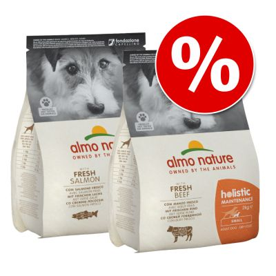 2 x 2 kg Almo Nature Holistic Small