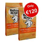 2 x 12kg Barking Heads Dry Food - Only €120!*