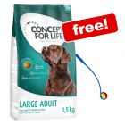 2 x 1.5kg Concept for Life Dry Dog Food + Tennis Ball Launcher Toy Free!*