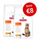 2 x 10kg Hill's Science Plan Dry Cat Food - €8 Off!*