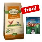 2 x 1.5kg Lukullus Dry Dog Food + Rocco Duck Cubes Free!*