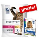 2 x 1,4 kg Perfect Fit + Anti-Hairball godis på köpet!