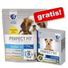 2 x 1,4 kg Perfect Fit Small Dogs + Dental Snacks XS/S på köpet!