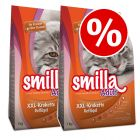 2 x 1kg Smilla Dry Cat Food - Buy One Get One Half Price!*