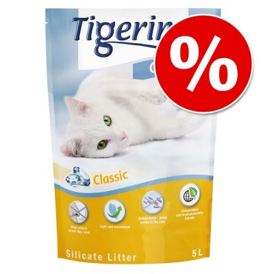 6 x 5l Tigerino Crystals Silicate Cat Litter - Special Price!*