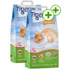 2 x 14l Tigerino Nuggies Cat Litter - Double Points!*