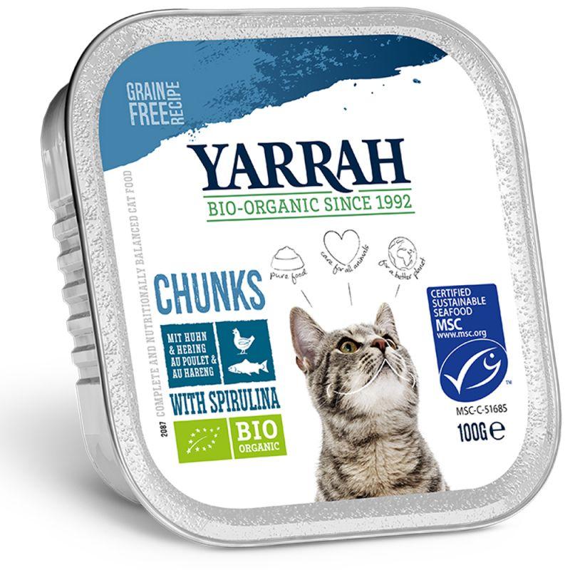 Yarrah Bio kousky v omáčce 6 x 100 g