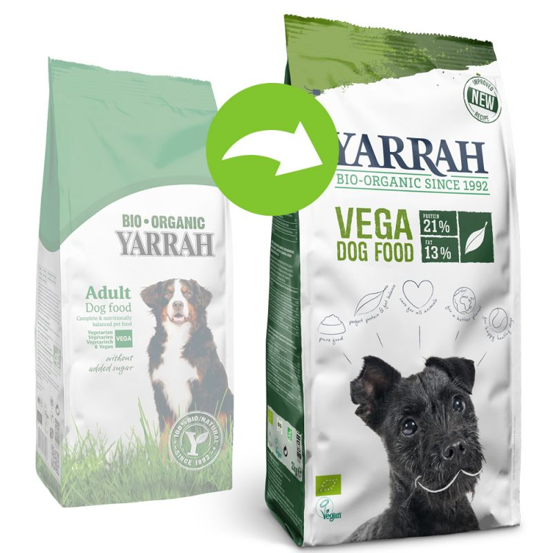 Yarrah Bio vegetariánské/veganské krmivo
