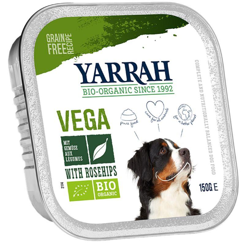 Yarrah Organic Vegetarian Chunks with Organic Rosehip