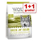 1+1 zdarma! 2 x 1 kg Wolf of Wilderness granulí