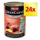 Zestaw Animonda GranCarno Sensitive, 24 x 400 g