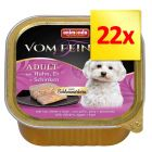Zestaw Animonda vom Feinsten Adult, 22 x 150 g