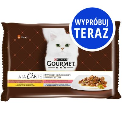 7bc73c21d66a24 Gourmet A La Carte mokra karma dla kota tanio w bitiba.pl: Zestaw ...