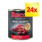 Zestaw Rocco Real Hearts, 24 x 800 g