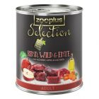 zooplus Selection Adult Beef, Game & Duck
