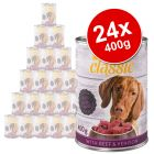 zooplus Classic Saver Pack 24 x 400g