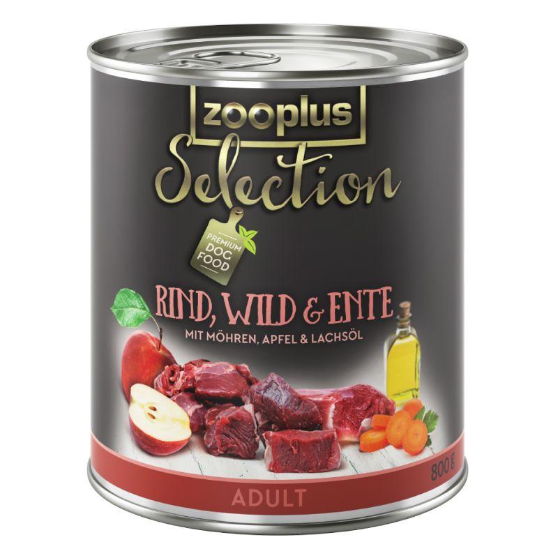 zooplus Selection Adult hovězí, zvěřina a kachní