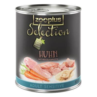 Zooplus Selection Adult Sensitive Kip & Rijst Hondenvoer