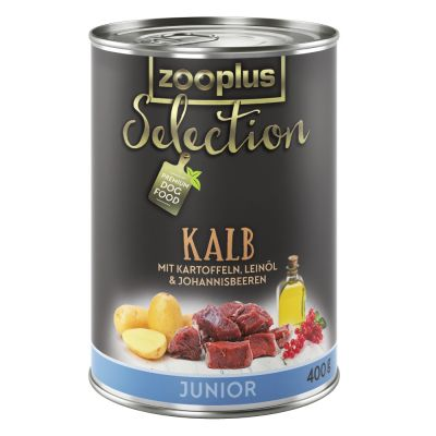 zooplus Selection Junior Vițel