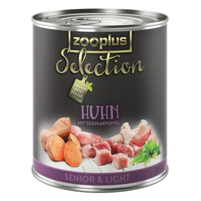 zooplus Selection Senior & Light Chicken