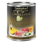 zooplus Selection Special Edition - Adult Kalv, kalkon & vaktel